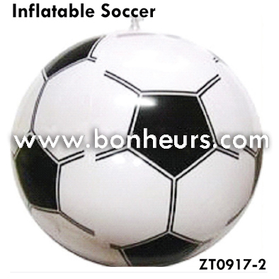 New Novelty Toy Sports Floating Beach Inflatable Soccer Ball