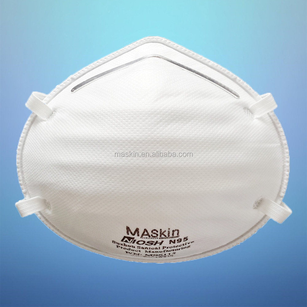Anti air pollution 3m 8112 n95 standard mask for personal protective equipment