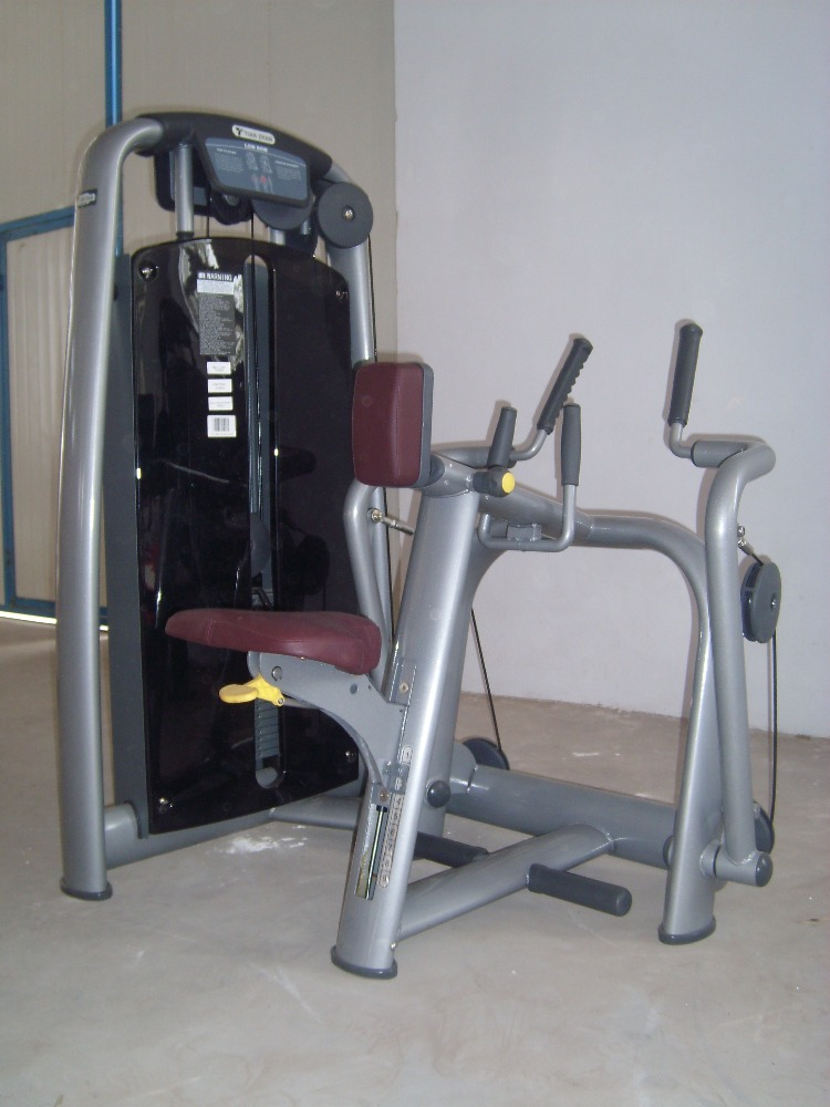 Hot sale weight stack fitness equipment/Commercial seated Row/DFT fitness