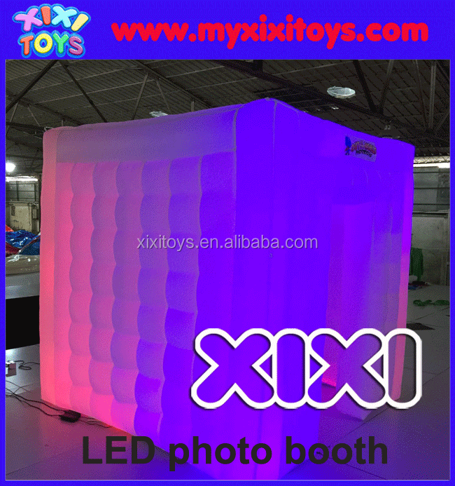 Popular LED Inflatable Photo Booth, Hot Sale LED Photo Booth
