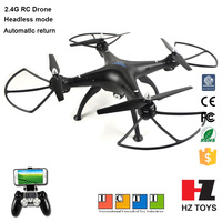 Wholesale drone toys 2.4G 4ch rc flying camera helicopters with wireless control for adult
