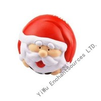 Santa claus cheap custom stress ball