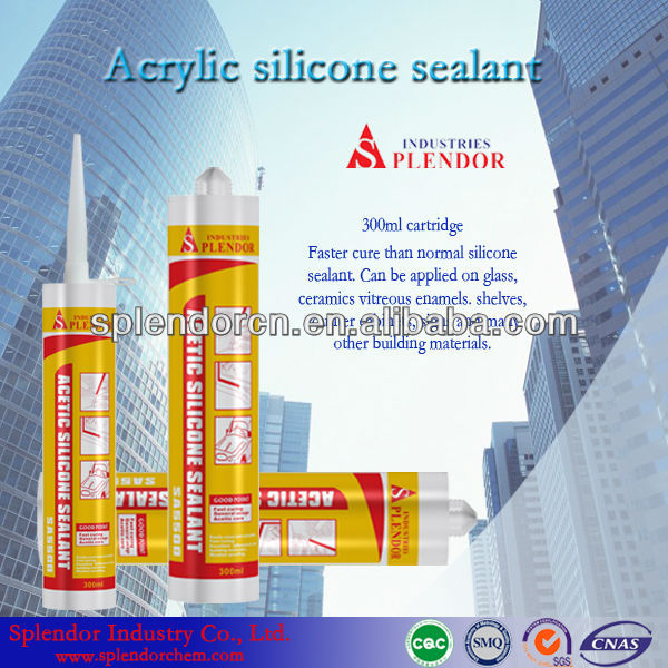 Acetic silicone sealant;glass adhesive/glueacrylic latex sealant;gap filler; acrylic joint sealer;acrylic tube/drum sealant