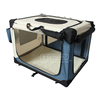 Transport Box Bag Easy Carry Pet Bag Folding Soft Dog Crate for Indoor