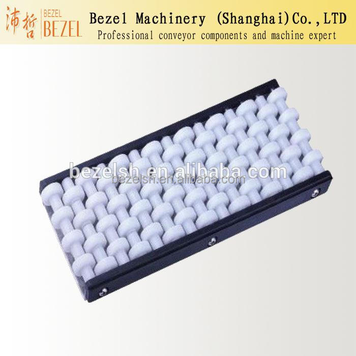 four row ball bearing guide roller side guide POM bead guard rail conveyor roller guard