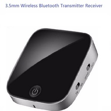 Wireless Portable Bluetooth Transmitter Receiver Audio Adapter Bluetooth Music Receive3.5mm for TV Speaker Headphone CX0061