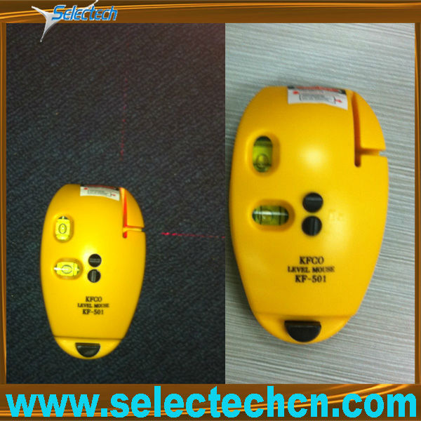 SE-SL2 laser mouse spirit level meter with horizontal and vertical line