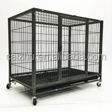 Disassembly big Heavy Duty Metal Dog Pet Cage Stand