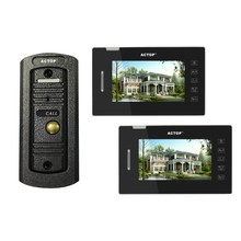 2.4ghz digital wireless intercom video door phone for villa/home/offficeIP door intercom