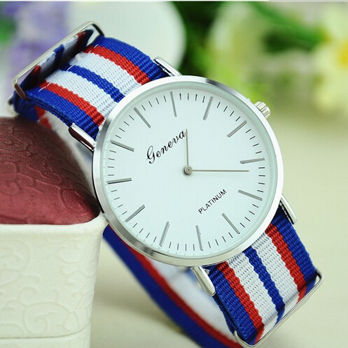 China CheaperFamous Brand Luxury Men Watches DW Watch Men Women Fabric Strap Sports Military Quartz Wristwatch Relojes Marca