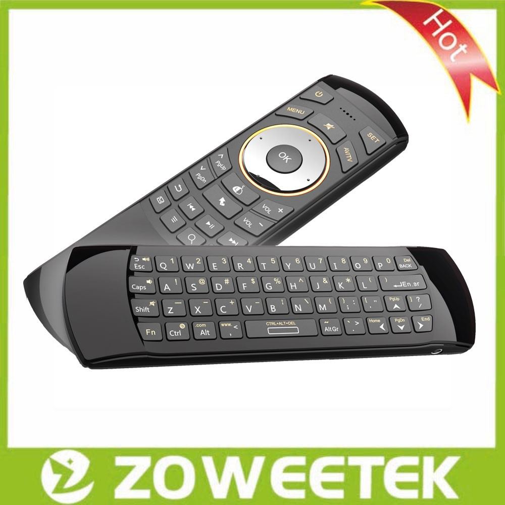 IR Remote Control 2.4G Air Mouse Mini Wireless Keyboard for Smart TV Samsung