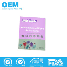 Antibacterial Feminine Intimate Wet Tissue Sex Delay Wipes