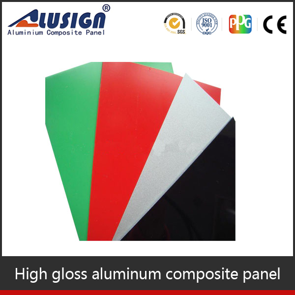 Alusign glass curtain wall bathroom floor material Aluminum Composite Panels