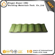 Stone Coated Steel Roofing Tile Long Lifespan Masonry Materials
