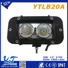 Alibaba best suppliers IP68 car 20w led offroad light bar