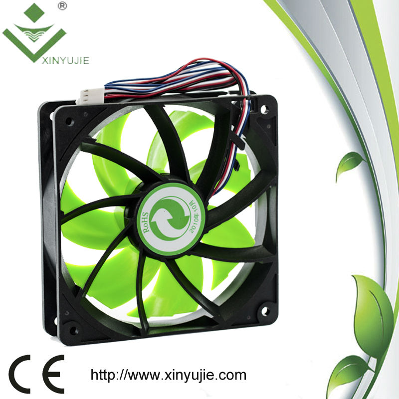 XJ12028H 120mm horizontal air flow 6 inch 6'' dc axial cooling fan