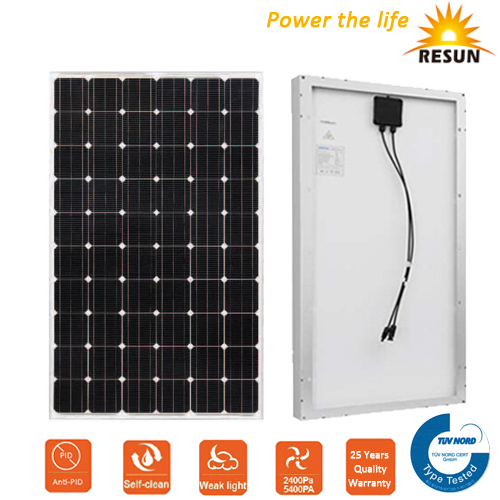 2017 High Efficiency TUV 250w solar panel diagram