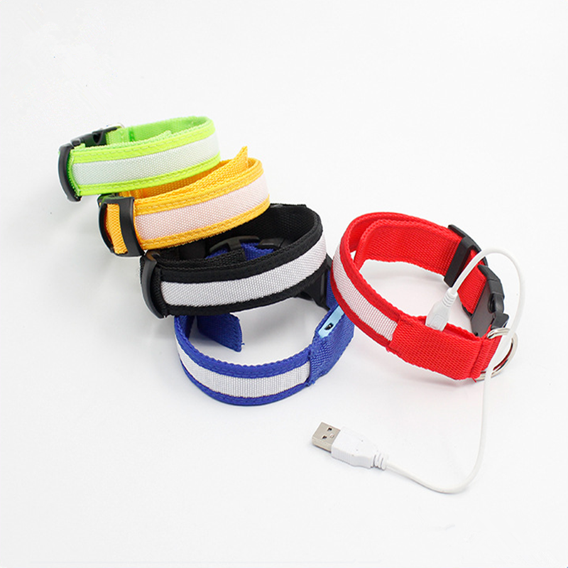 Custom Designer Wholesale LED Dog Trainning Dog Collar