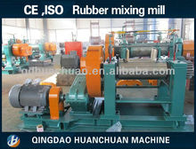 (Hardened reducer , bearing bush ) Rubber Open Mixing Mill / Rubber Mill / Two Roll Mixing Mill