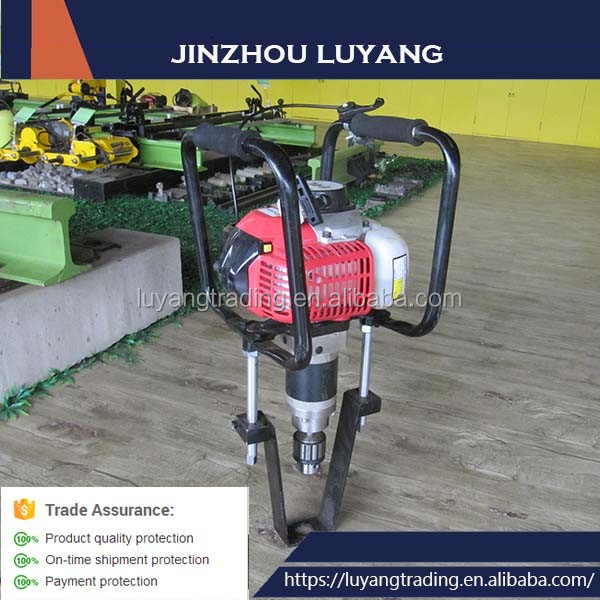 Trade Assurance Product Petrol Rail Hole Drilling Machine for Wood sleeper