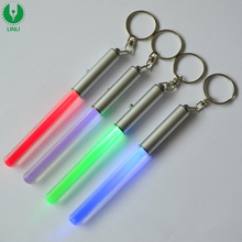 Wholesale Arycylic Mini Light Up Stick, Led Stick Keychain, Led Light Saber Keychain