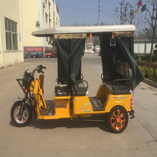 2017 Four Passengers 850W Three Wheel Electric Tricycle