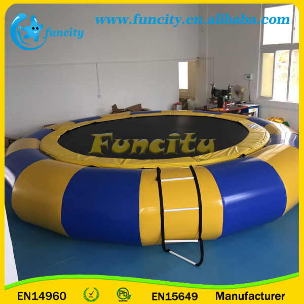 6m Diameter Inflatable Water Trampoline,Inflatable Air Bouncer