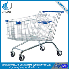 Mini shopping cart for supermarket metal shopping trolley