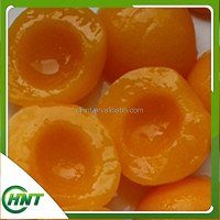 Canned Yellow Peach Halves Fruit In Syrup 3000g