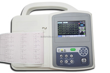 price of the Portable 6 channels interpretive ecg machine with CE approved (8110)