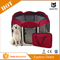 Durable Pet Tent/Playpen/Dog Cage with Strong Steel Frame