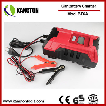 6A dual car charger 6V/12V Car battery charger