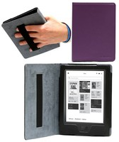 Book Style Magnetic Flip Leather Case Cover for KOBO Aura H20