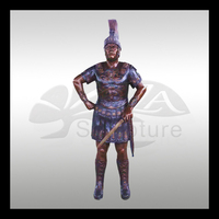 high quality indian american warrior statues