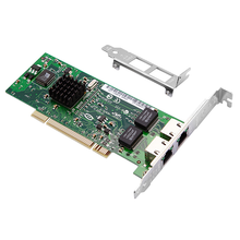 DIEWU PCI 10/100/1000mbps Gigabit network card intel 82546