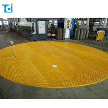 ISO certificated chemgrate fiberglass grating
