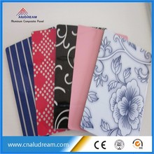 Design acp sheet wholesale dibond 3MM UV digital printing dibond