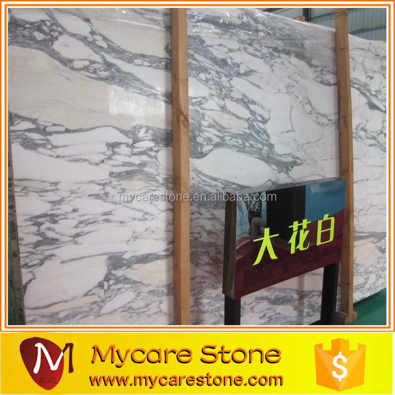 A grade Italy marble arabescato for project
