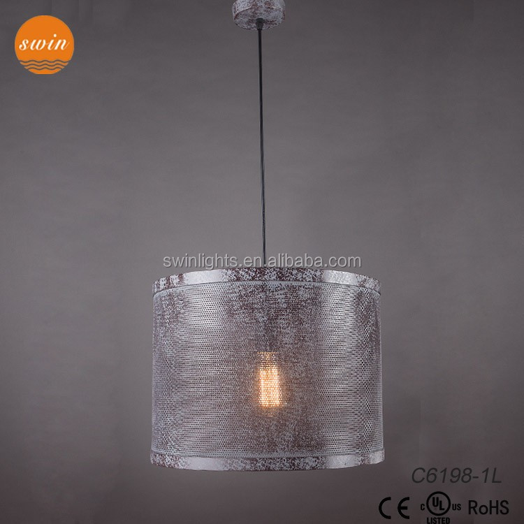 Professional China Factory Manufacture Pendant Light/Hanging Lamp For Home Decoration C6198-1L