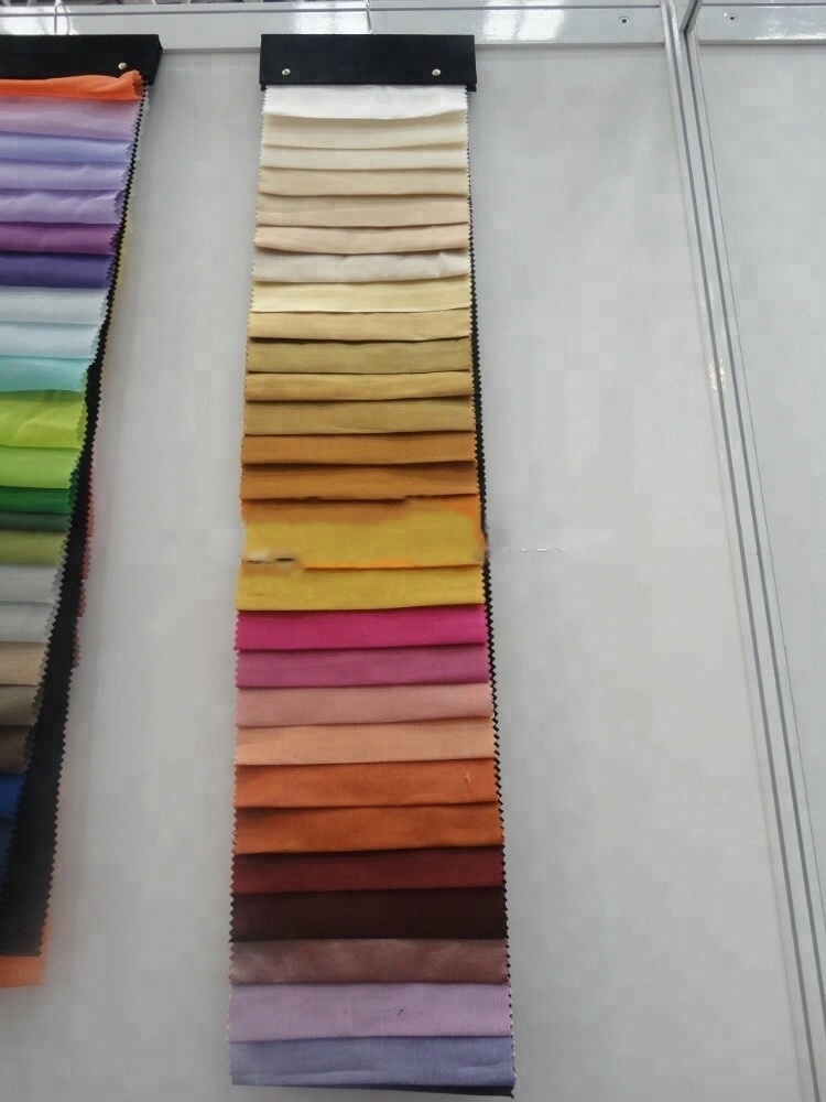 Voile curtain fabric/100% Polyester terylene sheer voile curtains