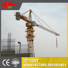 low price ce Anti crash devices eight 8 ton used tower crane 6513