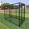 Large outdoor folding new fsahionable high quality low price comfortable galvanized beautiful dog cages/kennels/pet houses