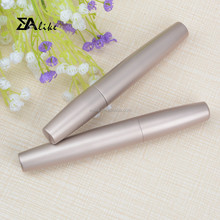 Wholesale cosmetic plastic aluminium empty mascara tube