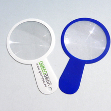 Factory direct sale Bookmark magnifier PVC/plastic magnifying glass