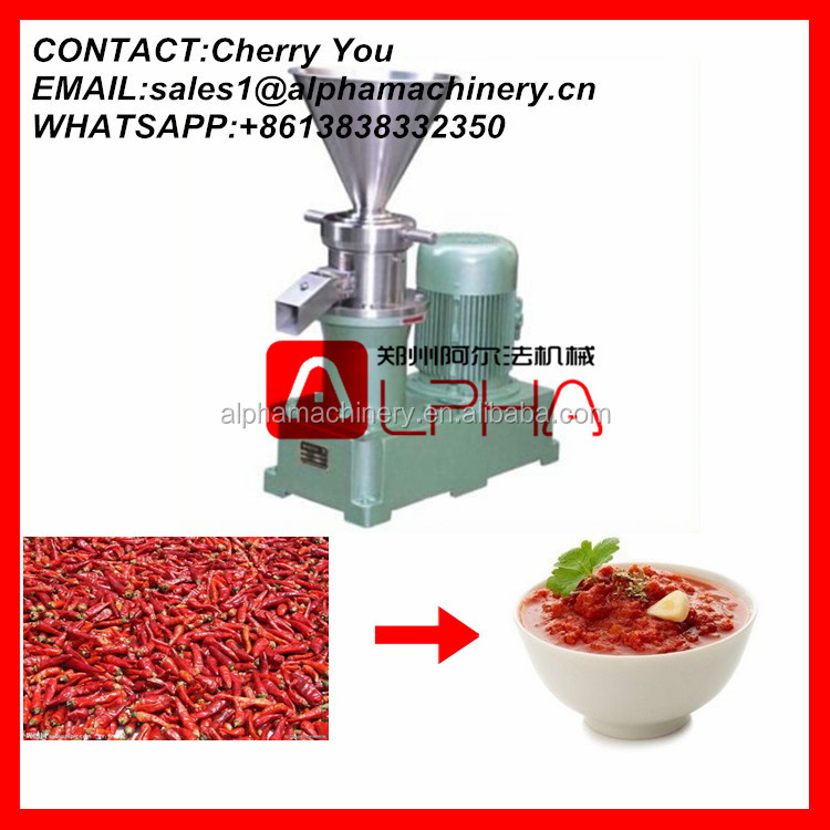 Fruit jam making machine/jam production equipment/colloid mill machine