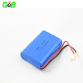 Rechargeable 103450 3.7v 2000mah aluminum case li-ion battery cells with hard case