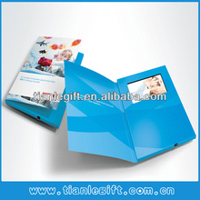 "Tft screen 7"" 800x480pxl video brochure card, digital brochure, electronic brochure"