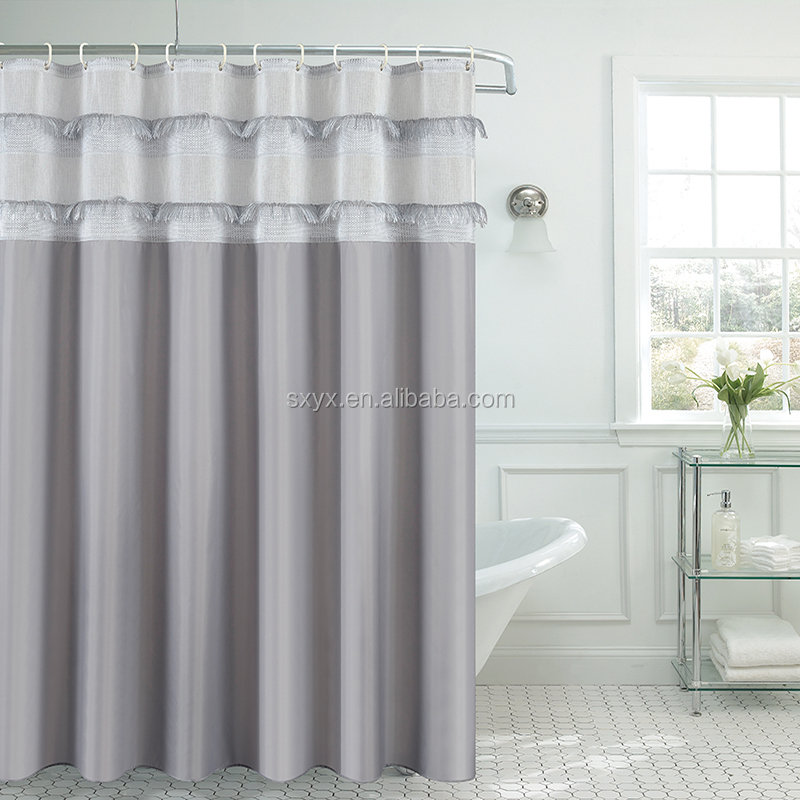 Fashion Shower Curtain Pintuck Polyester Bathroom 7272inch View Liner EHOUSE HOMEWARE Product Details From