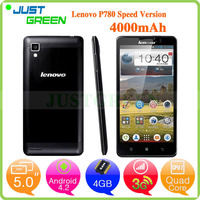 Lenovo P780 mobile phone prices 5 inch MTK6589 Quad Cores phone 1GB 8GB Android 4.2 china mobile