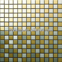 stainless steel mosaic metal patterning backsplash tiles,brushed stainless steel mosaic metal tiles, construction material MS62